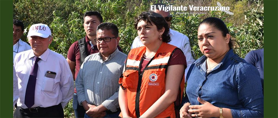 supervisa secretaria de protección civl la represa de El Infiernillo2