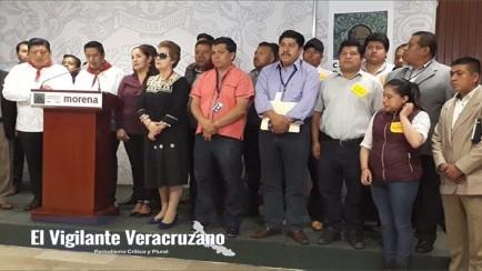 alcaldes de la sierra de zongolica en congreso federal