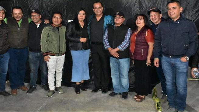 autoridades de nogales reconocen a artistas