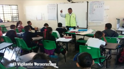educacion vial en zona de mariano escobedo