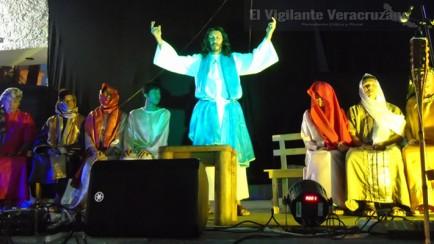 escenificación de la pasión de cristo en ciudad mendoza