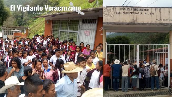 maestros cumlen dos días retenidos en temaxcalapa