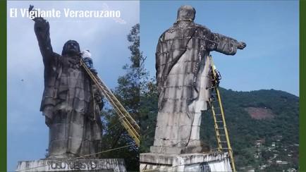 mantenimiento a cristo rey de zongolica