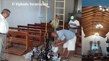rescatan la iglesia el calvario de zongolica