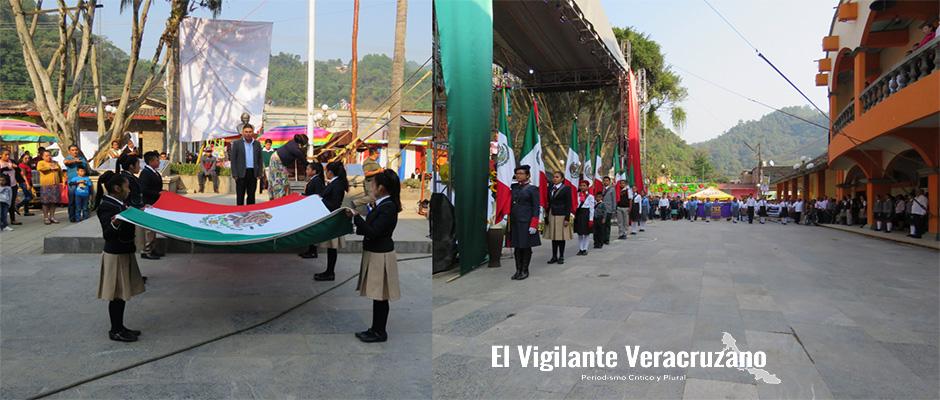 acto cívico conmemorativo a la Batalla de Puebla