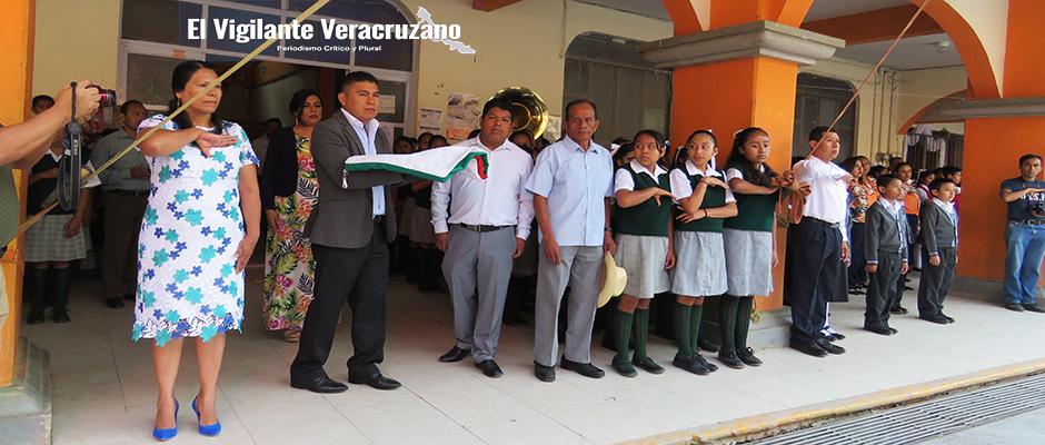 acto cívico conmemorativo al 5 de mayo en zongolica