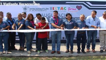 inauguran unidad deportiva en ixtaczoquitlan