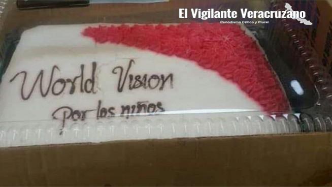 pasteles en mal estado donados a wv
