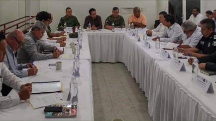 reunión de seguridad en tezonapa