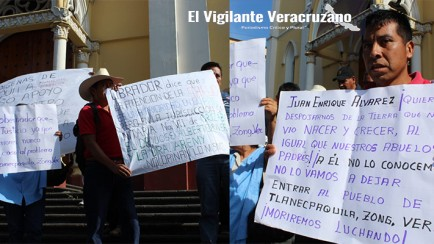 se manifiesta tlanecpaquila en xalapa