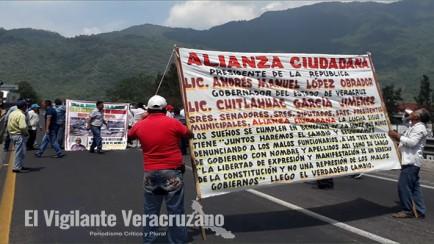 alianza ciudadana bloquea la autopista veracruz-puebla