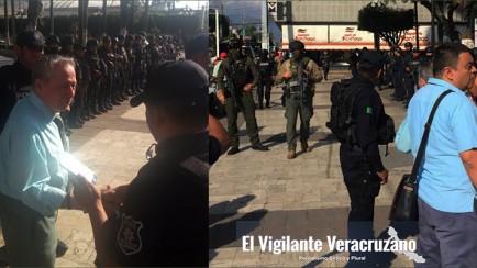fuerza civil y ssp se hacen cargo de la seguridad en ciudad mendoza
