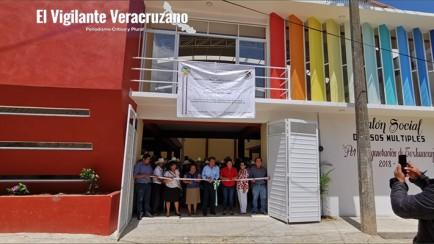 salón de usos múltiples en texhuacan