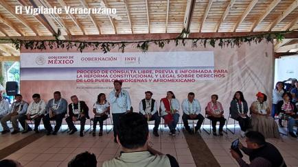 consulta libre, previa e informada para la reforma constitucional y legal sobre derechos de los pueblos indígenas y afromexicanos