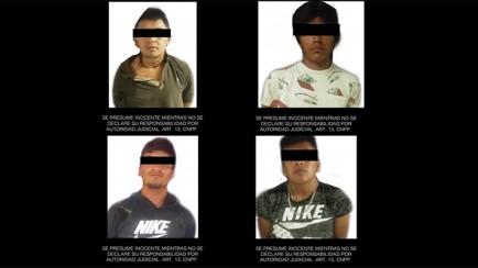 detiene ssp a 4 presuntos secuestradores en maltrata