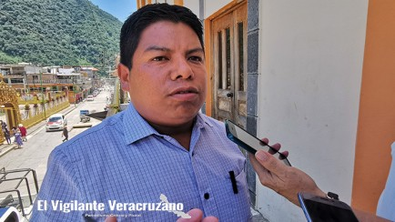 Marcelo Tepole Ramírez, delegado de la sev en zongolica