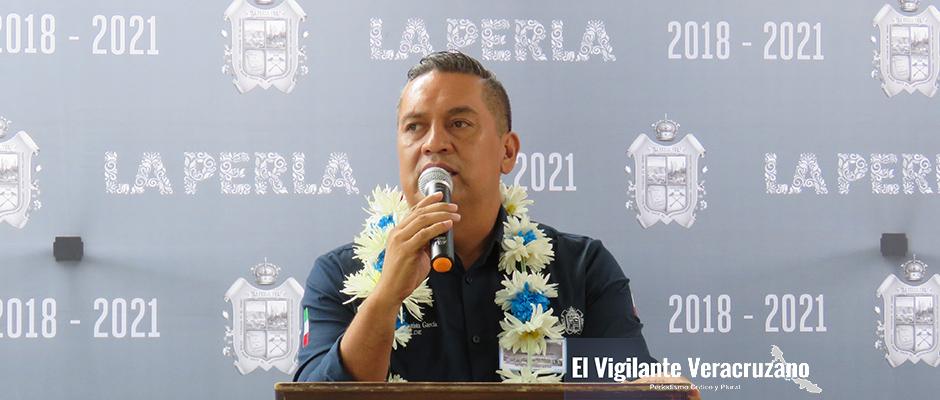 Miguel ángel bautista garcía, alcalde de la perla