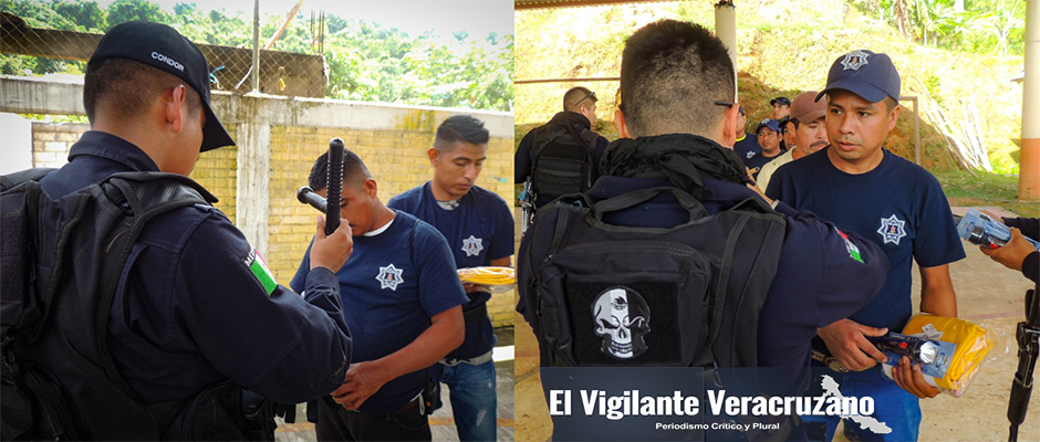 equipamiento a policía auxiliar de zongolica2