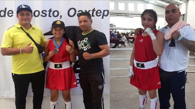 jovencitas de zongolica se llevan medallas de oro, plata y bronce en festival de box