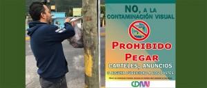 sanción a quien emita contaminación visual en nogales