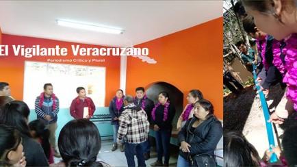 inaugura alcalde de astacinga comedor comunitario en Xayacatepec