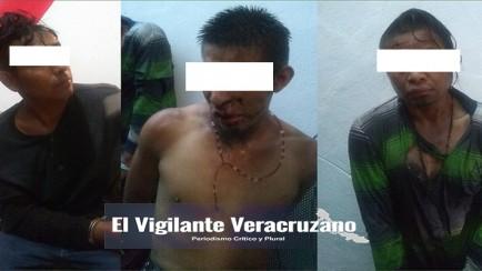 presuntos secuestradores de infante en la perla