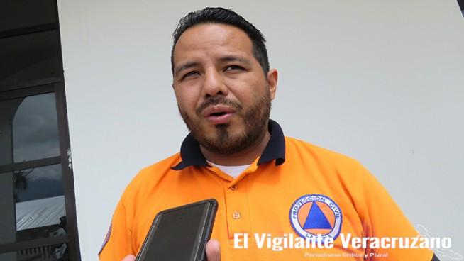 Jorge Martínez García, Director de Protección Civil de La Perla