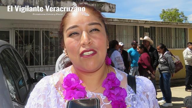 marha tentzohua sánchez, alcaldesa de tlaquilpa