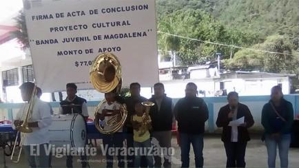 apoya inpi a grupo de músicos del municipio de magdalena