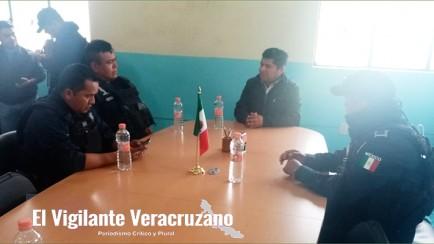 reunión de seguridad en tehuipango