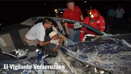 sobrevive a fuerte accidente automovilístico en tlapacoyan