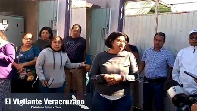 falta de agua en unidad ex hacienda de jalapilla