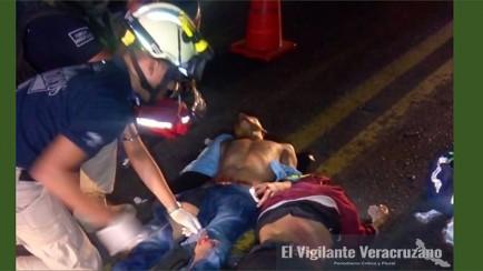 tráiler atropella a motociclistas en yanga
