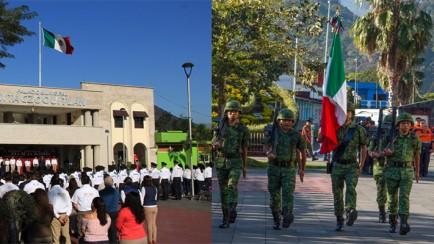día de la bandera en ixtaczoquitlán