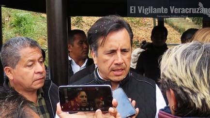 cuitláhuac garcía jiménez, gobernador de veracruz