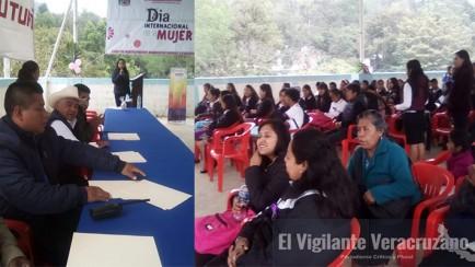 día internacional de la mujer en Magdalena