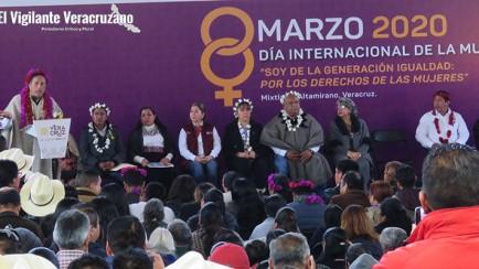 día internacional de la mujer en Mixtla