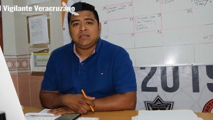 david flores betanzo, director de protección civil municipal de zongolica