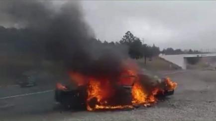 incendian patrulla de la pfp