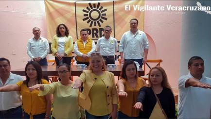 nuevo comité municipal del PRD en Camerino Z