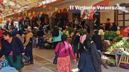 mercado local de zongolica