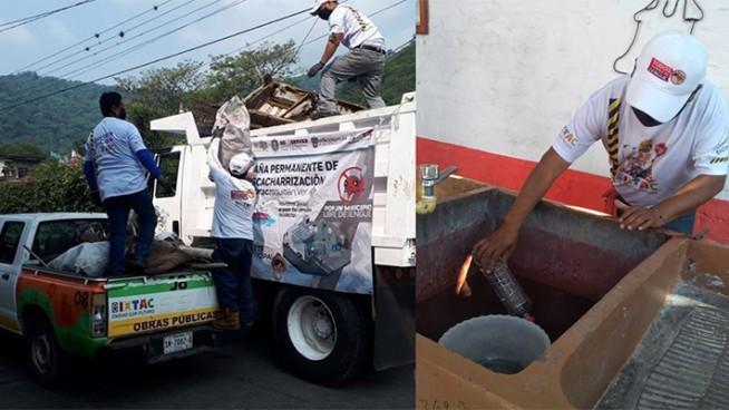 acciones contra el dengue en ixtac