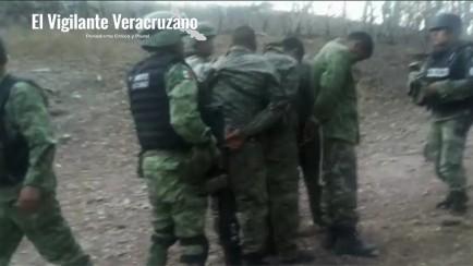 detienen a militares desertores por adiestrar a delincuentes