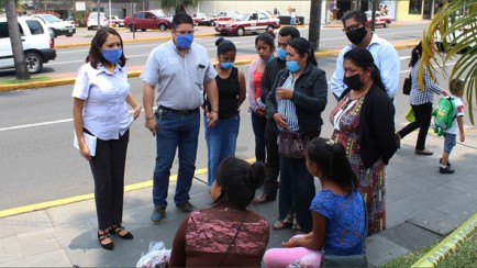 dif retira a niños de las calles de orizaba para evitar contagios de covid-19
