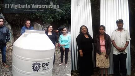 alcaldesa de magdalena entrega apoyos a familias vulnerables