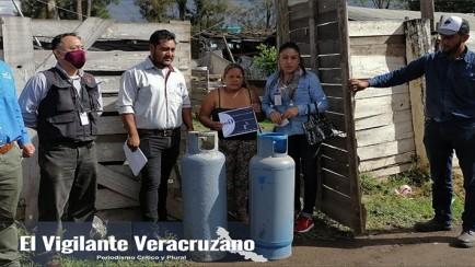 gas 1 dona cilindros a familias de ciudad mendoza
