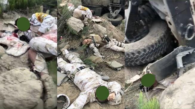 se accidentan militares en rosarito